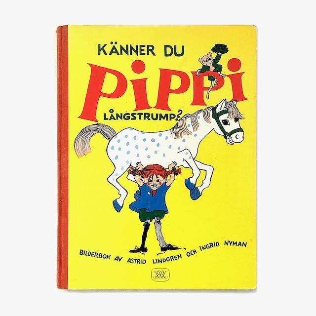 アストリッド・リンドグレーン「Känner du Pippi Långstrump?(長くつ下のピッピを知ってる?)」《1975-02》