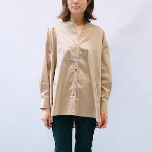 siro de labonte(シロ デ ラボンテ) STRETCH BROADCLOTH shirt 2021秋物新作[送料無料]