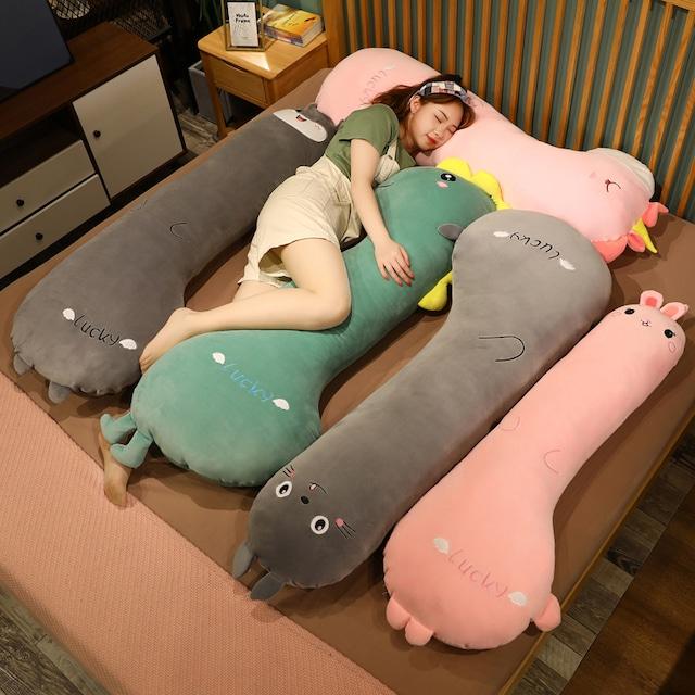 【アクセサリー】140cm 可愛いデザイン クッション 寝室 ベッド 枕クッション51093472