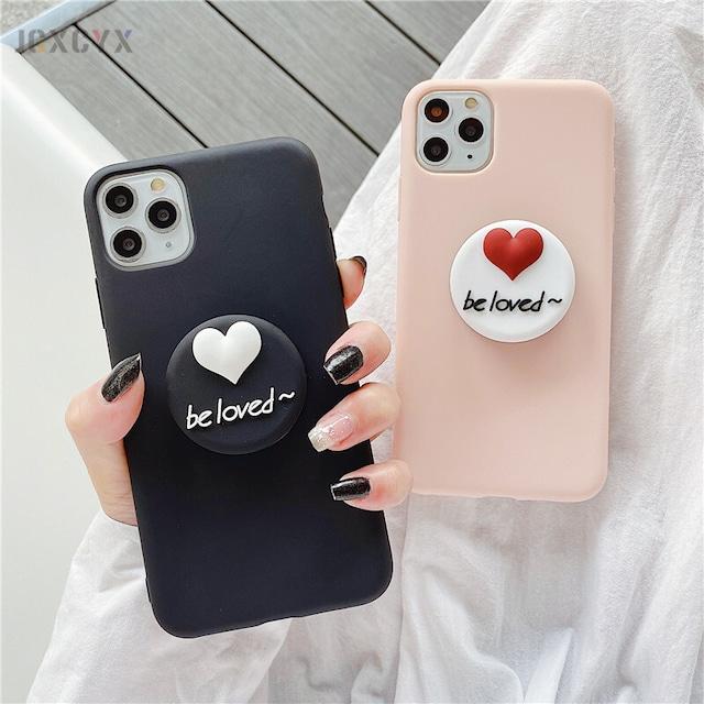 グリップ付き Lovely Cute iphone galaxy case