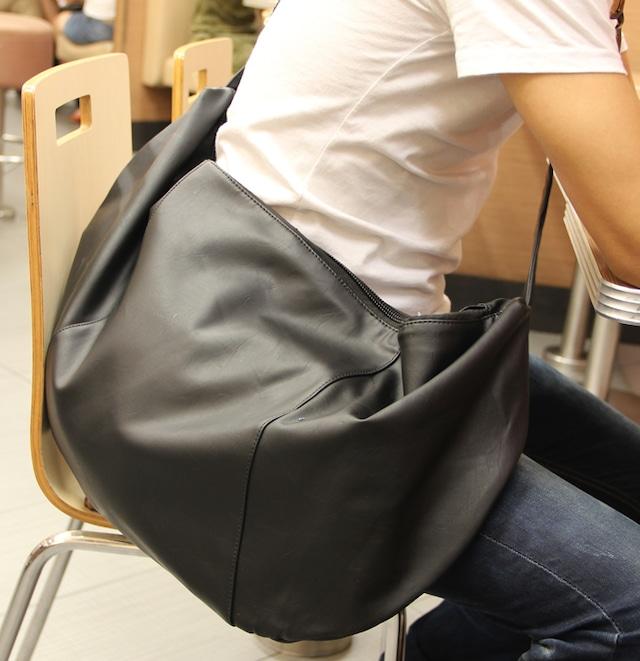 ショルダーバッグ メンズ  メッセンジャーバッグ レザー 革 軽量 旅行 bag-163