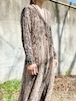Vintage See Through Lace Dress With Innerwear