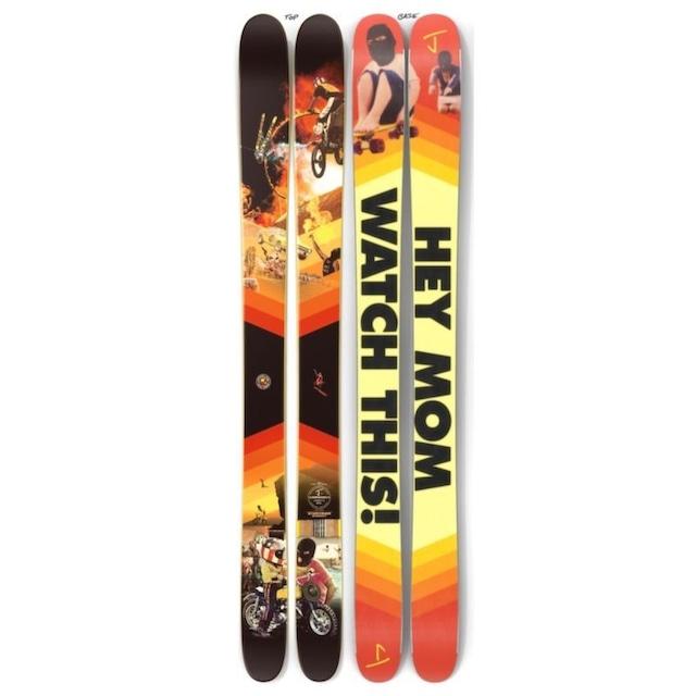 【予約】J skis - フレンド「スタントマン」Ahmet's Brother x Jコラボ限定版スキー【特典付き】