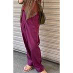 【RehersalL】twill gurkha pants (pink)/【リハーズオール】ツイルグルカパンツ(ピンク)
