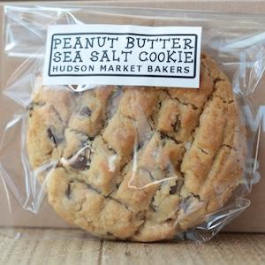 ピーナッツバター・ソルトクッキー4枚