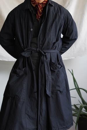 <STYLING> ⇨ Chez VIDALENC - Trench coat no flap & Jumpy cambric cotton