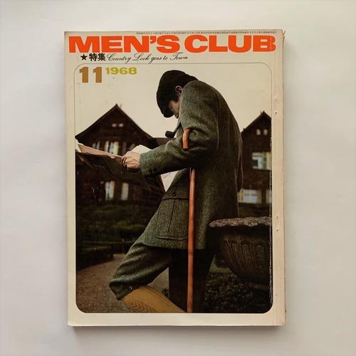 MEN'S CLUB メンズクラブ 84号 / 婦人画報社