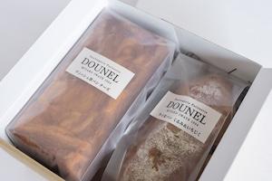 DOUNELチーズデニッシュ・ライ麦パンセット (いちじく)