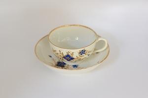 イギリス アンティーク ヴィクトリアン カップ&ソーサー 1800年代初期 #CS003
