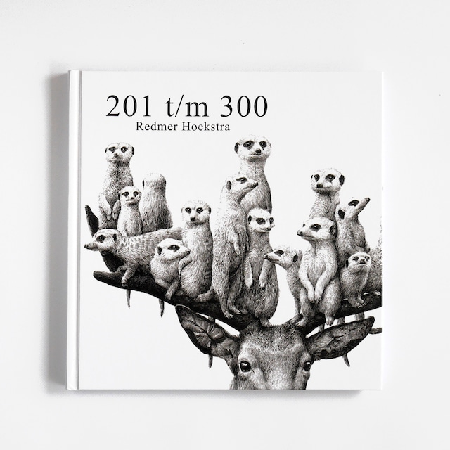 イラスト集「201 t/m 300 - Signé」イラストレーターRedmer Hoeakstra