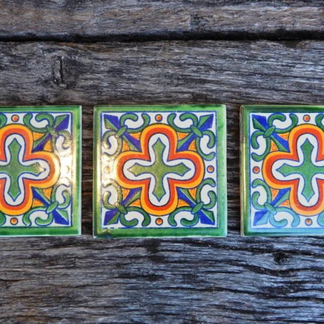 メキシコタイル クロス