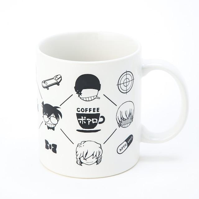 【 名探偵コナン マグカップ Vol.1 】アイコンモノグラム