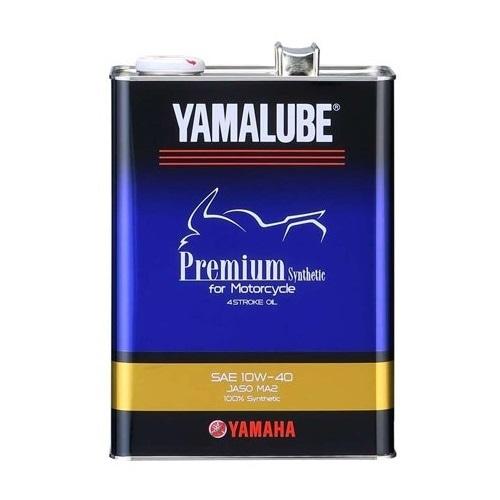 バイク エンジンオイル 【純正部品】ヤマルーブ プレミアムシンセティック 10W-40 4L