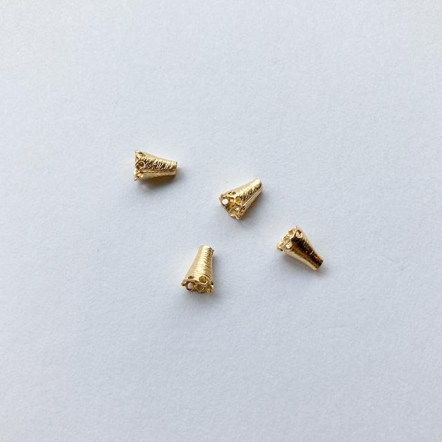 USA真鍮 ミニ三角タッセルキャップパック(4p)