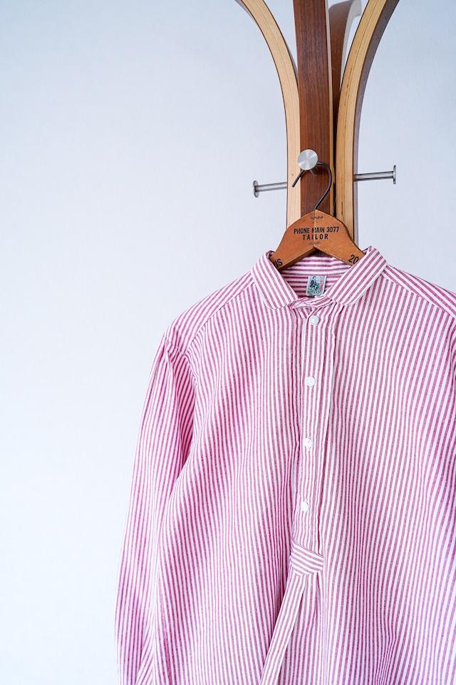 "【1960s】""Germany Made"" Euro Vintage Grandpa Shirts / v639"