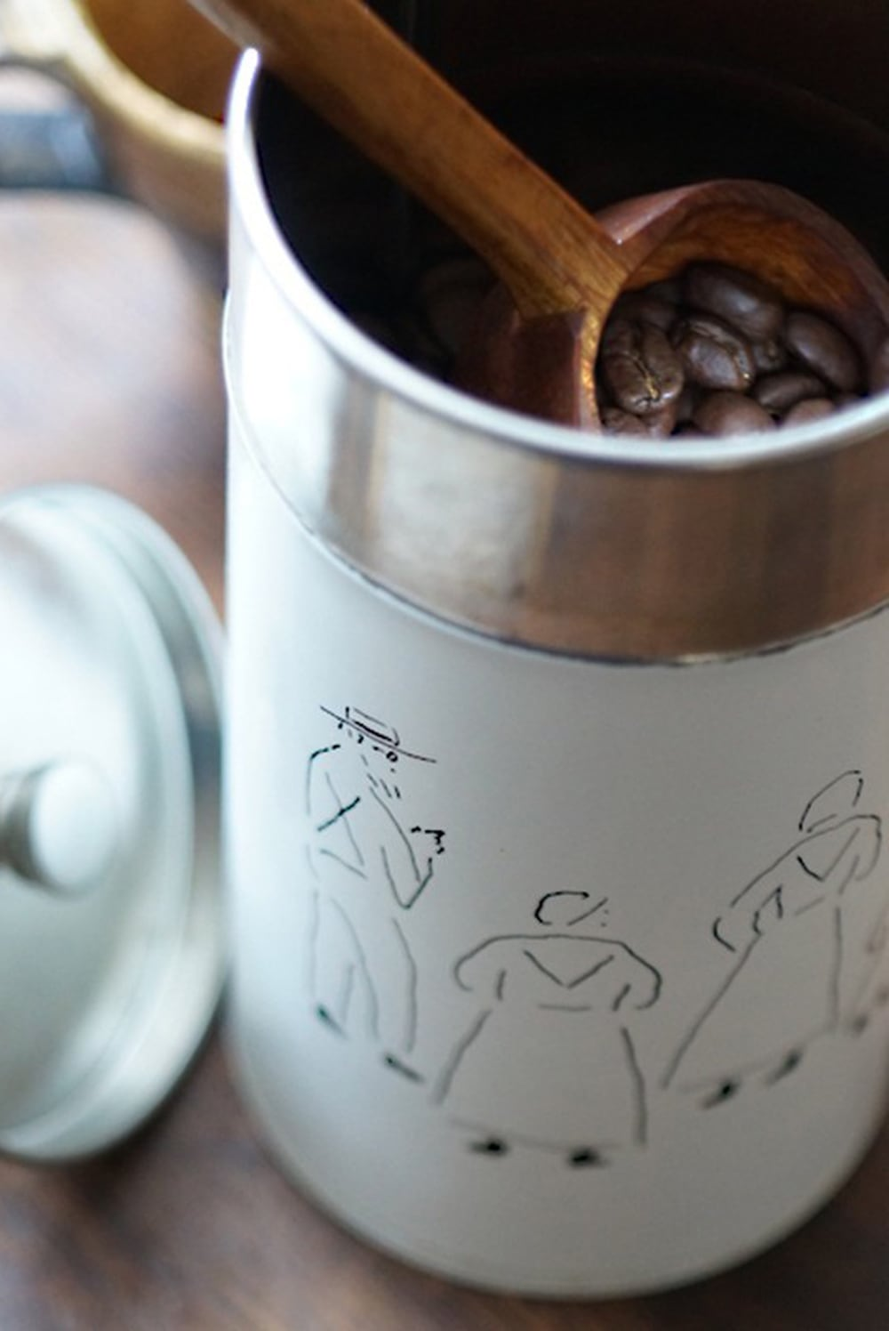 Coffee Canister(Hitomi Taba)