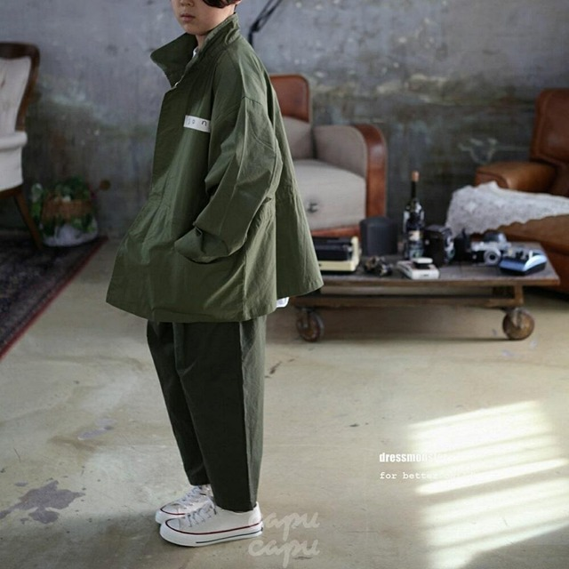 «sold out» dressmonster pin tuck slacks 2colors ピンタックスラックス