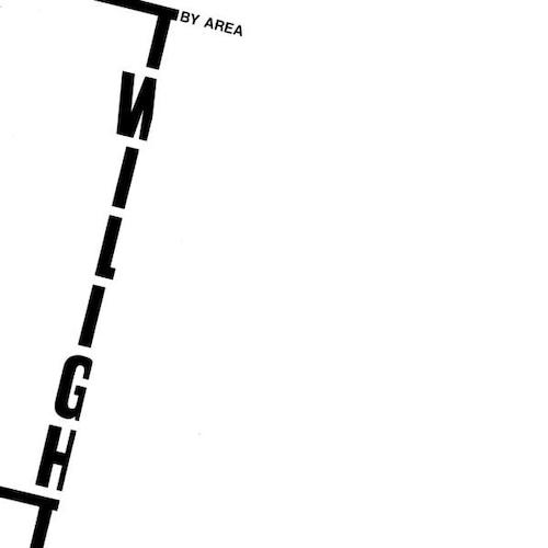"AREA ""Twilight"" (輸入盤)"
