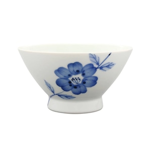波佐見焼 WAZAN 和山窯 flowers くらわんか碗 ラインフラワー 385810