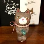 U様ご注文分      橋本京子「Sing together 立体猫」