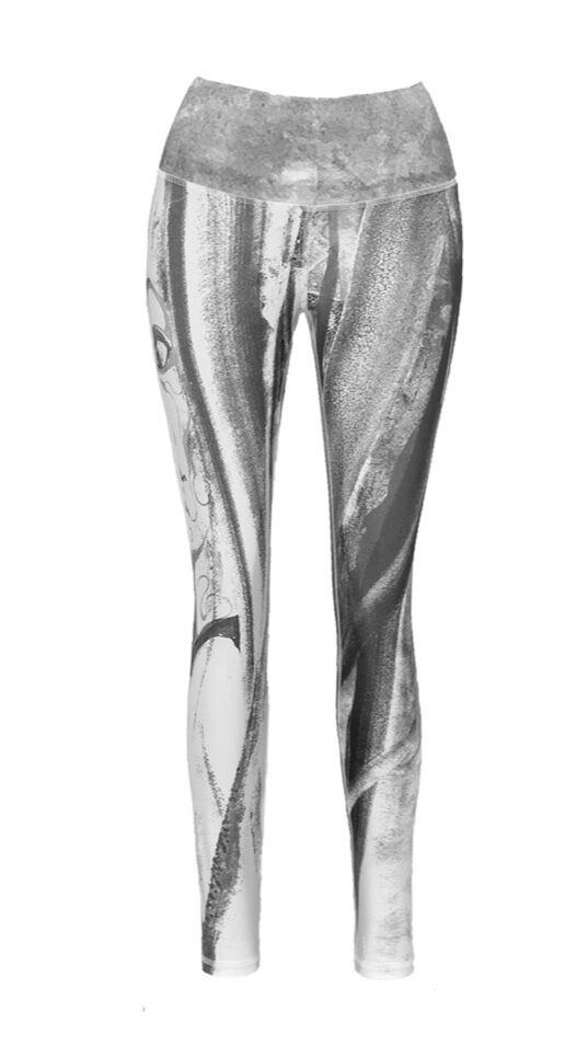 Steph Black & White Legging