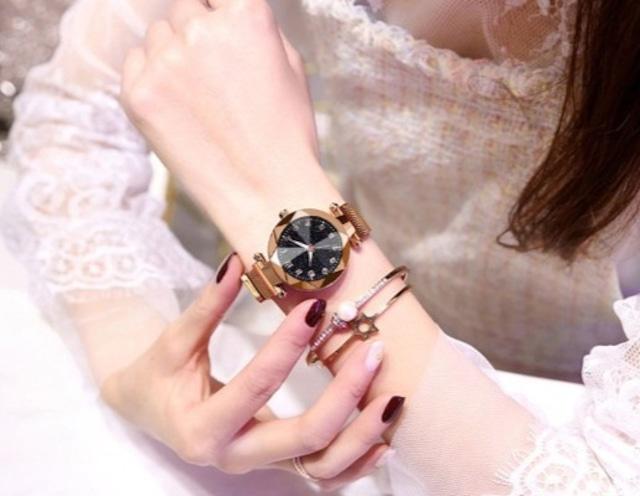 YUHAO LT-3266(gold) レディース腕時計