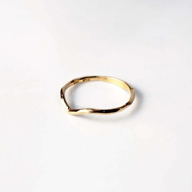 Phalange ・Pinky Ring / Wish Ring  (R025-YG)
