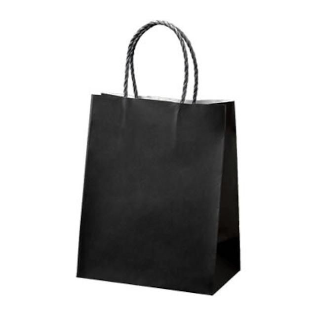 ギフト用手提げ紙袋 Sサイズ ブラック