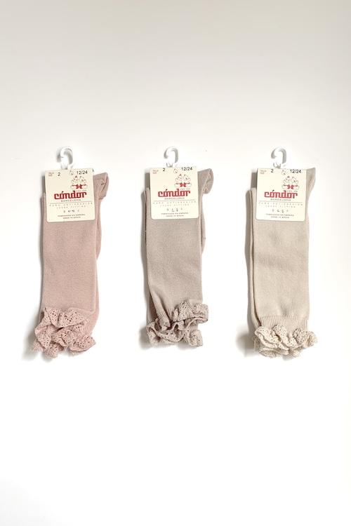 condor high socks lacecuff baby