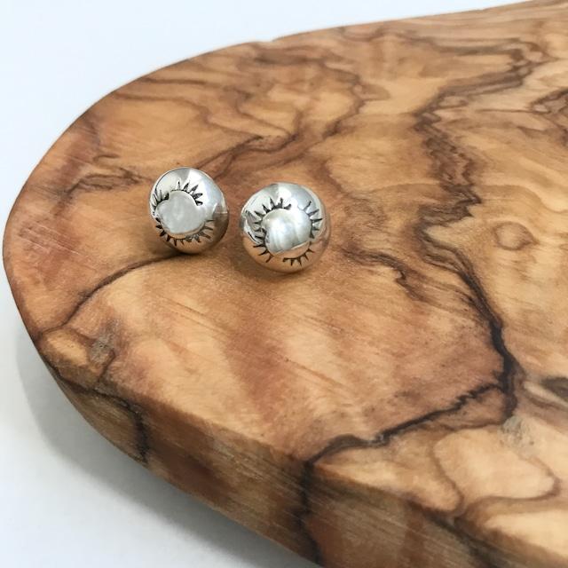Indian Jewelry Navajo Studs Earrings M 3