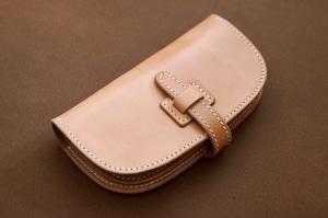 【受注製作】本革サドルレザーの長財布【フラップ】
