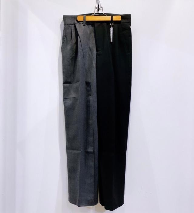 FENG CHEN WANG / CONTRAST COLOR SUIT PANTS