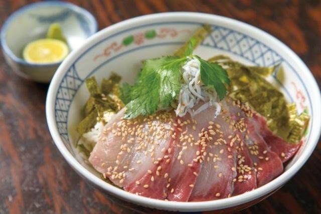 【美味しかがわ】ひけた鰤づけ丼/醤(ひしお)