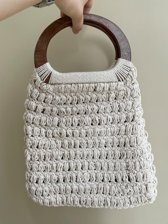 crochet bag / 7SSGD06-30