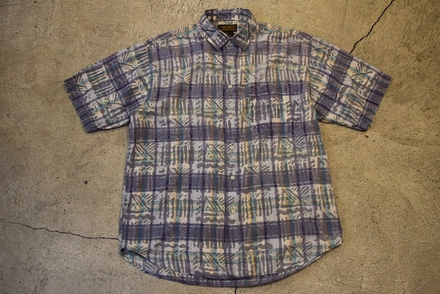 USED 80s Eddie Bauer S/S shirt -Large S0557