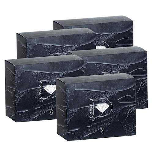 「まとめ買い特典:DSGP+3包付き」skincare365 ダイヤモンドスキンジェルパック(8包入)×5箱