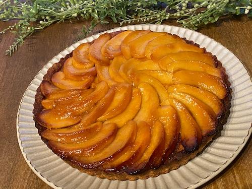 りんごの蜜煮のタルト
