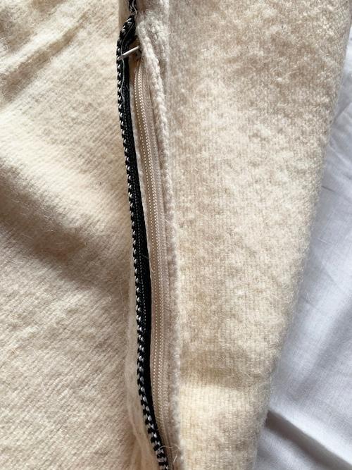 petit pompom cushion cover
