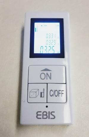EBIS 充電式レーザー距離計 D30