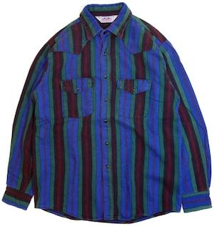 70年代 DAKOTA ウエスタン ネルシャツ 【M】 | アメリカ ヴィンテージ 古着