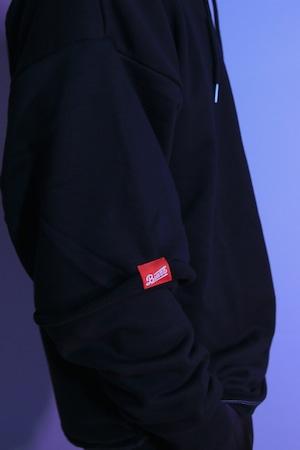 Layered Hoodie SP [BLACK]