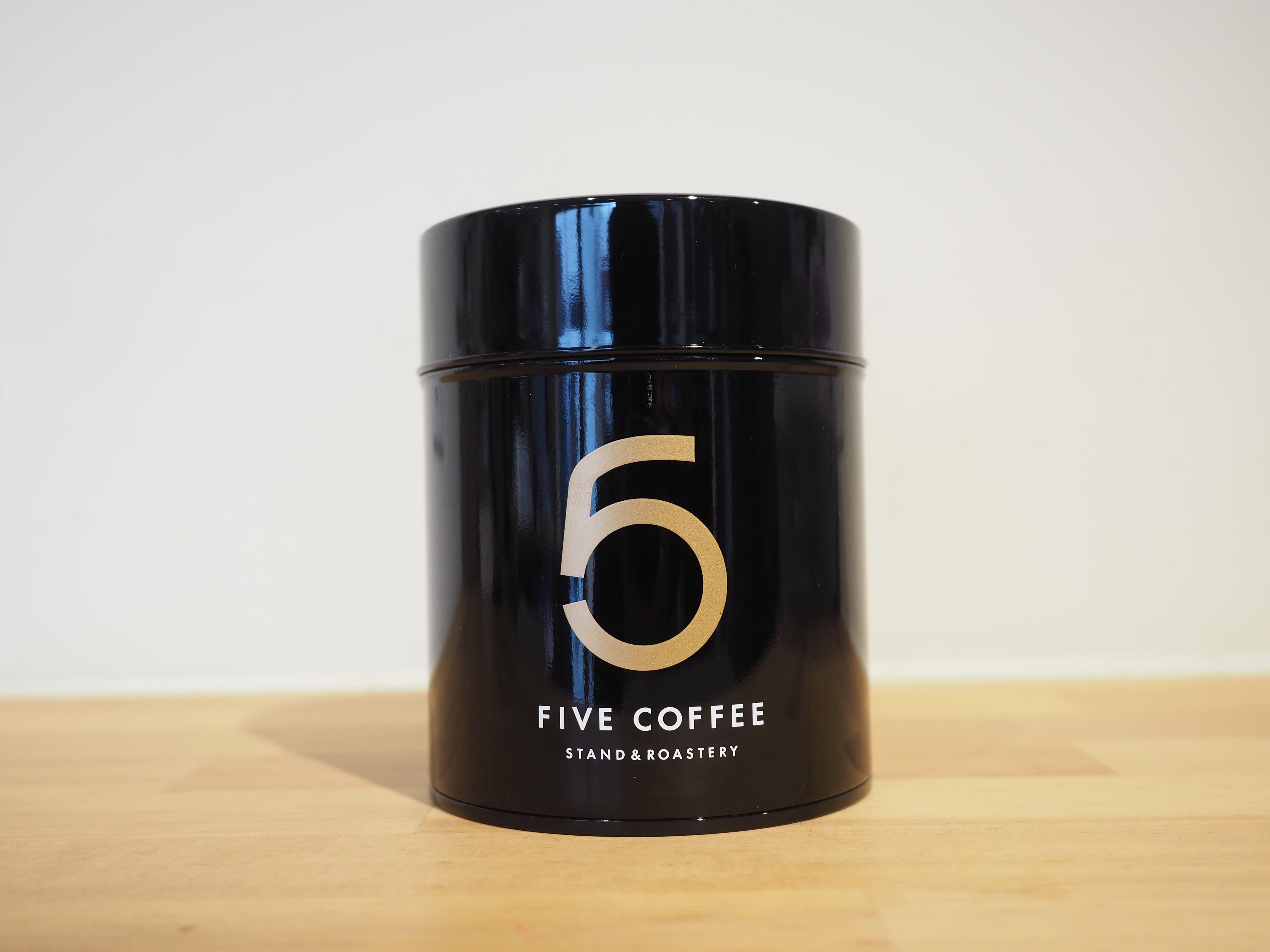 オリジナル コーヒー保存缶
