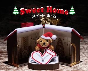 クリスマス限定ギフトボックス ベアサンタマスコット付き Sweet Homek型ギフトボックス 6個入り AR-X-026