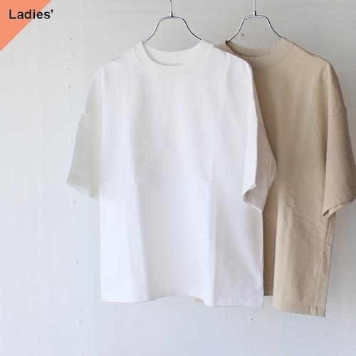SETTO セット 30T-SHIRT 度詰め天竺ワイドTシャツ ST-005 ホワイト スモークグレー