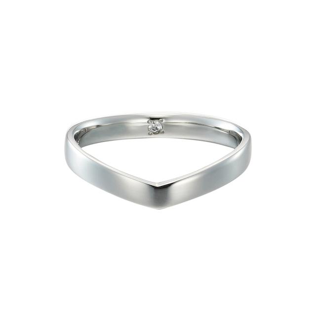 Pt900 Everlasting Ring / #4-#15