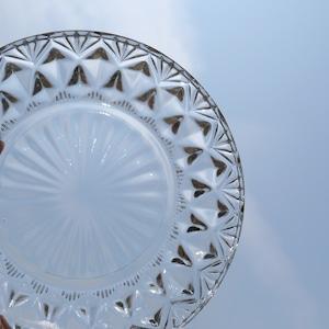[NO.30703] ガラス小鉢  大正/ Small Glass Bowl / Taisho Era