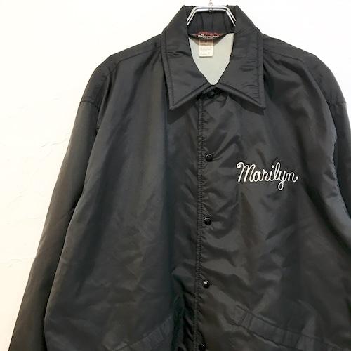 【USED】70's コーチジャケット ブラック