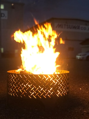 焚き火台『縞子はん』
