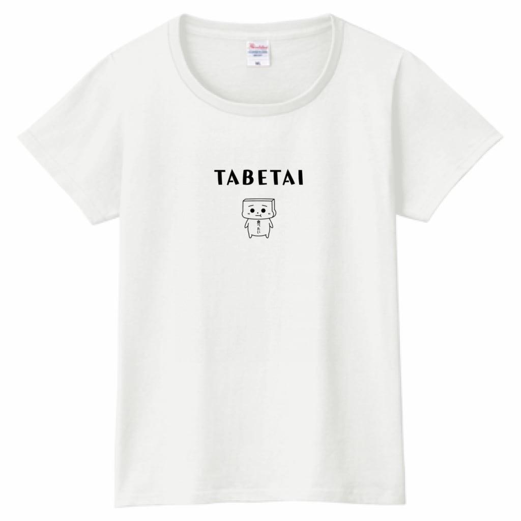 とうふめんたるずTシャツ(ごまぞうくん・レディース)