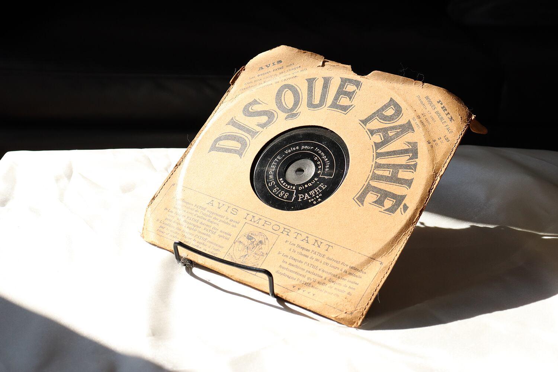 【フランス】レコード/ DISQUE PATHE